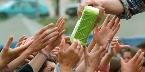 sanitary napkins in meghalaya