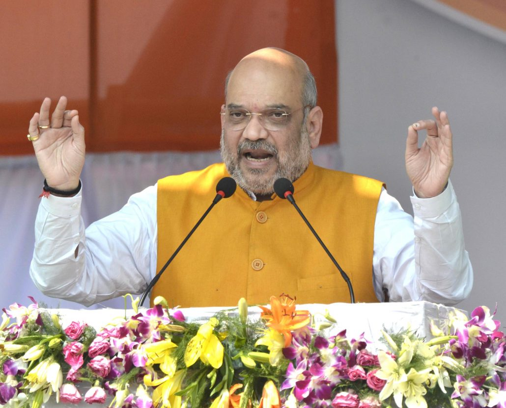 Union home minister Amit Shah  (file photo)