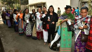 Final voters' turnout in Meghalaya stands at 84.86 per cent 1