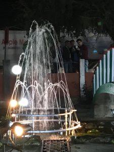 A view of Kabita Kanan Ganesh Gogoi Park in Jorhat.