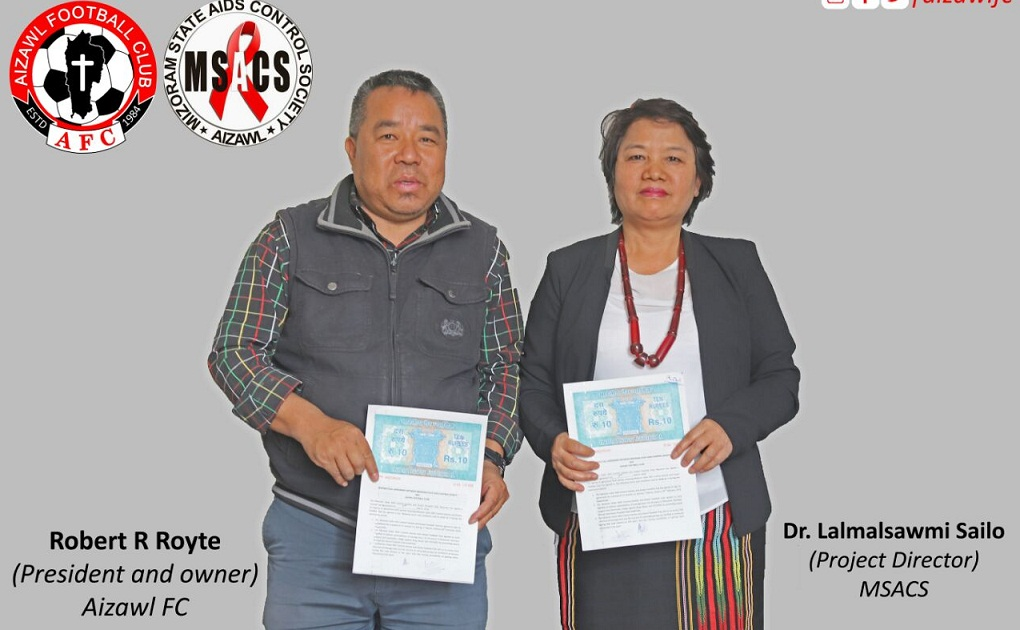 Fight against HIV/AIDS: Aizawl FC sign MoU with Mizoram State Aids Control Society 1