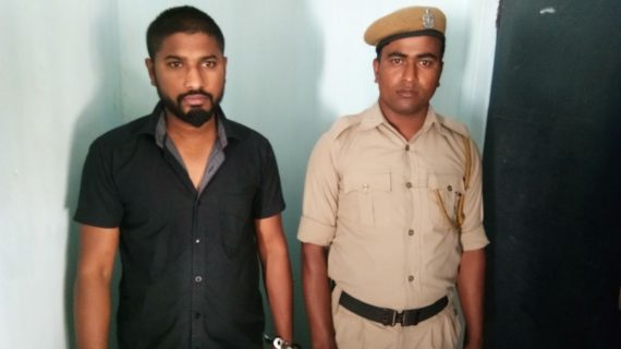 Arrested accused Safikul Islam (L).