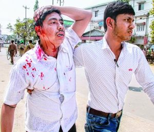 BJP-IPTF supporters unleash terror in Tripura 1
