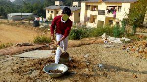 Teacher, Principal allegedly engage students of Jawahar Navodaya Vidyalaya, North Tripura in construction work 2