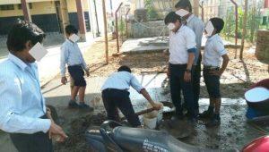 Teacher, Principal allegedly engage students of Jawahar Navodaya Vidyalaya, North Tripura in construction work 3