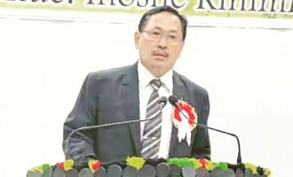 Nagaland Pradesh Congress Committee President K Therie.