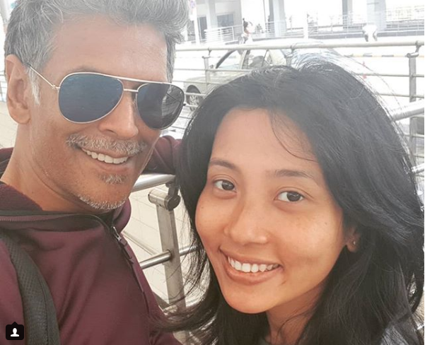 Love is in the air: Milind Soman shares pretty pictures with Ankita on Instagram 2