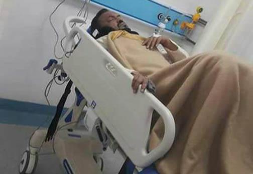 Abdur Rashid Mandal, MLA from West Goalpara LAC, undergoing treatment.