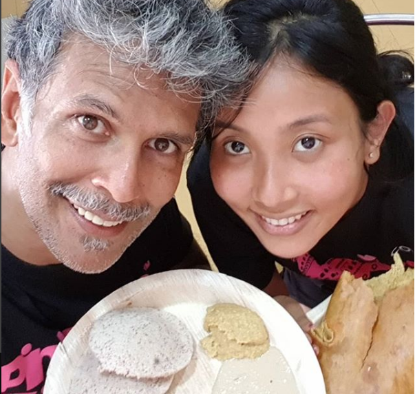 Love is in the air: Milind Soman shares pretty pictures with Ankita on Instagram 4