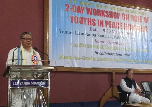 Two-day workshop on role of youths in peace building begins in Manipur 1