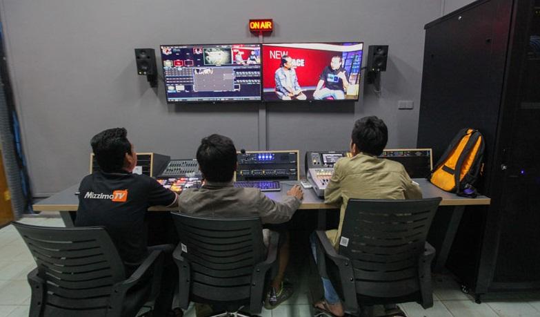 Mizzima TV station. Photo: Mizzima News