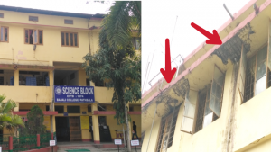 Students nervous to attend classes in Bajali College 1