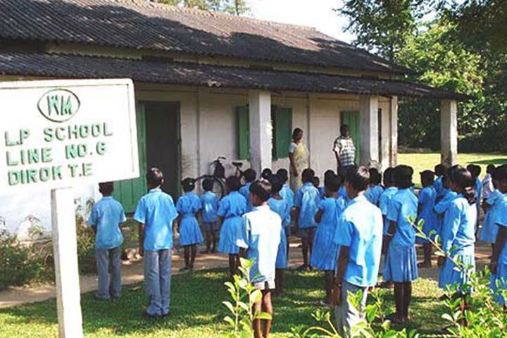 Representative image of a tea garden school.