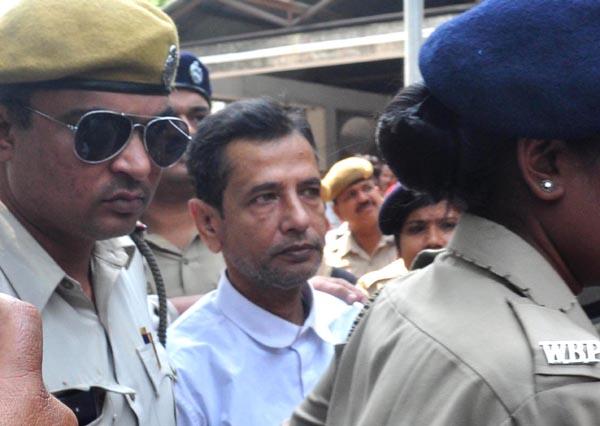 Saradha Scam main accused Chairman of Saradha Group Sudipto Sen produced in court in Guwahati on 23-03-18.