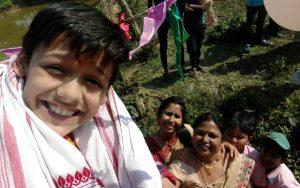 Super Dancer's finalist Bishal in Jorhat.