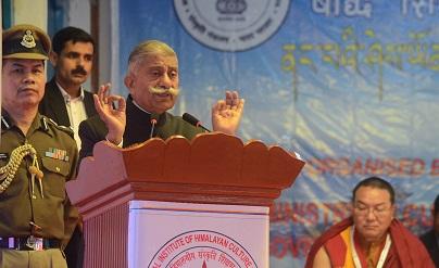 File photo of Arunachal Pradesh Governor BD Mishra. UB Photos