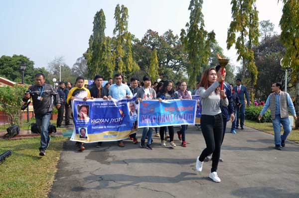 science congress rally in manipur