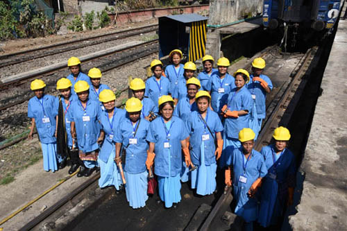 NF Railways engages first-ever All Women Maintenance Gang in Guwahati 1