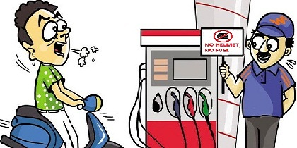 petrol pump strike