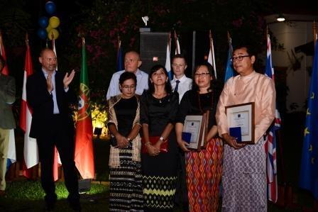 Schuman Award for Myanmar human rights activists 1