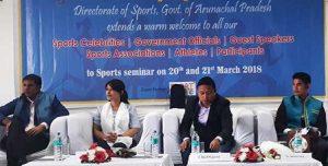 sports seminar arunachal