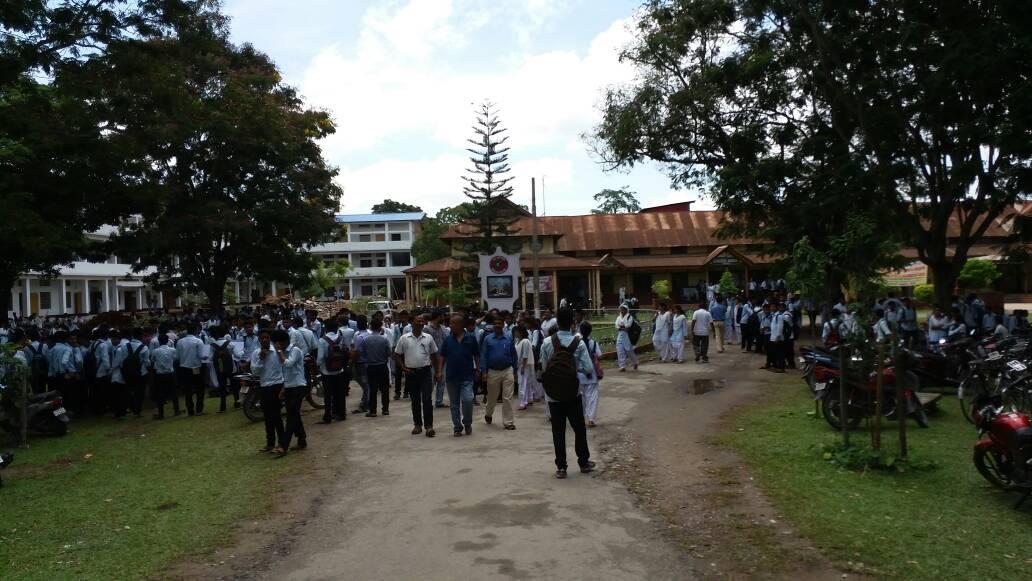 Mangaldai College. Courtesy - Mangaldai College website