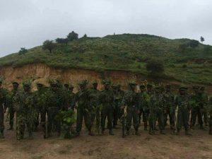 North-east militants flex muscles with joint tactical exercise training in Myanmar 1