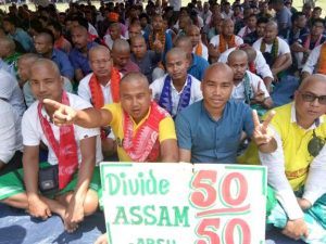 Betrayal Day observed in BTAD; ABSU, PJACBM, NDFB-P activists tonsure heads 4