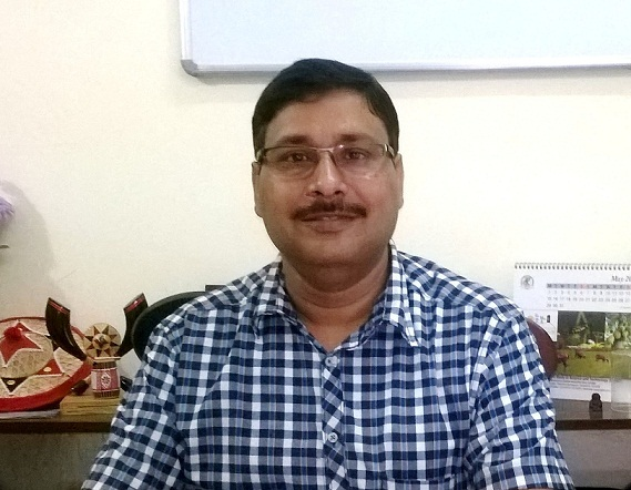 File photo: Prof Ashis K Mukherjee, Department of Molecular Biology and Biotechnology, Tezpur University. Picture credit: www.tezu.ernet.in