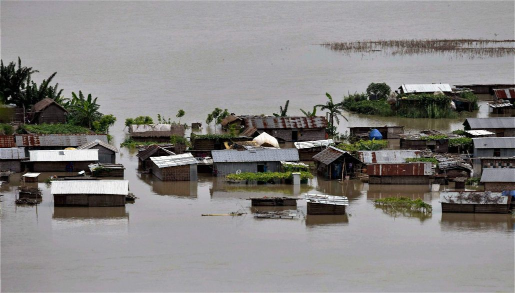 Image result for Flood situation worsens in Lower Assam