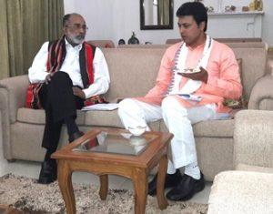 Tripura Chief Minister meets several union ministers in Delhi 2