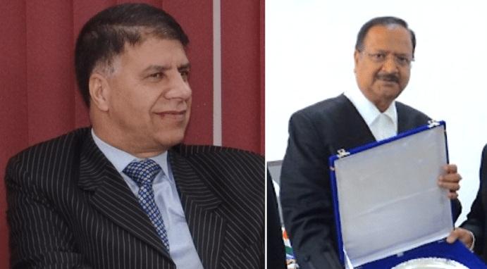 Justice Mohammad Yaqoob Mir (Left) and Justice Ramalinga Sudhakar (Right). Picture credit: https://barandbench.com