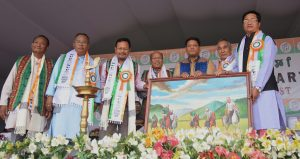 Manipur NPP's warm welcome: M'laya CM Conrad Sangma, his Cabinet colleagues felicitated in Imphal 2