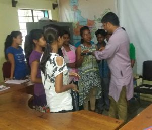 Sports goods and umbrellas distributed among children of SOS village of Hojai 1