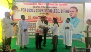 Himanta in Diphu, inaugurates new sports complex, KAAC Secretariat building 4