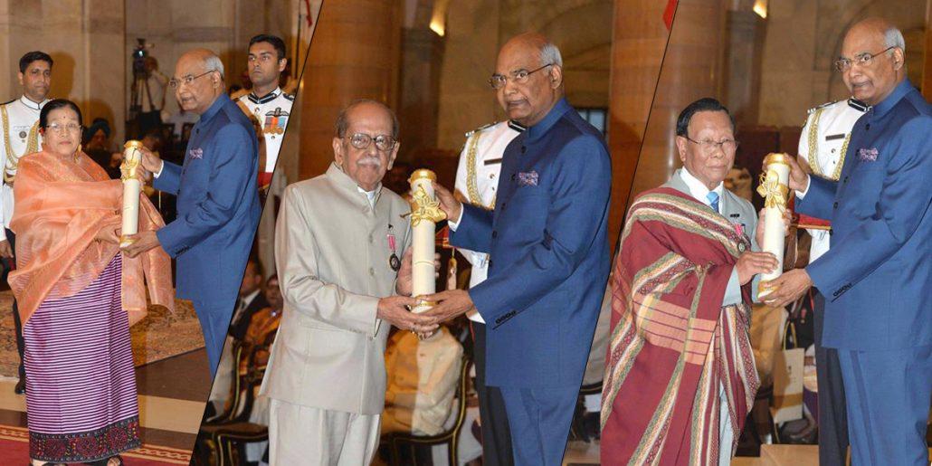 NE Padma awards 2018