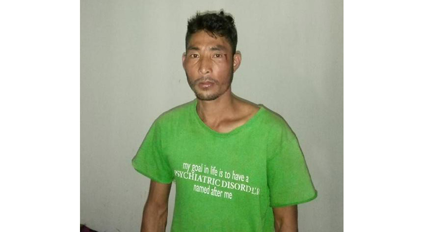 Khagrak Marak alias Rajen. Source - Facebook