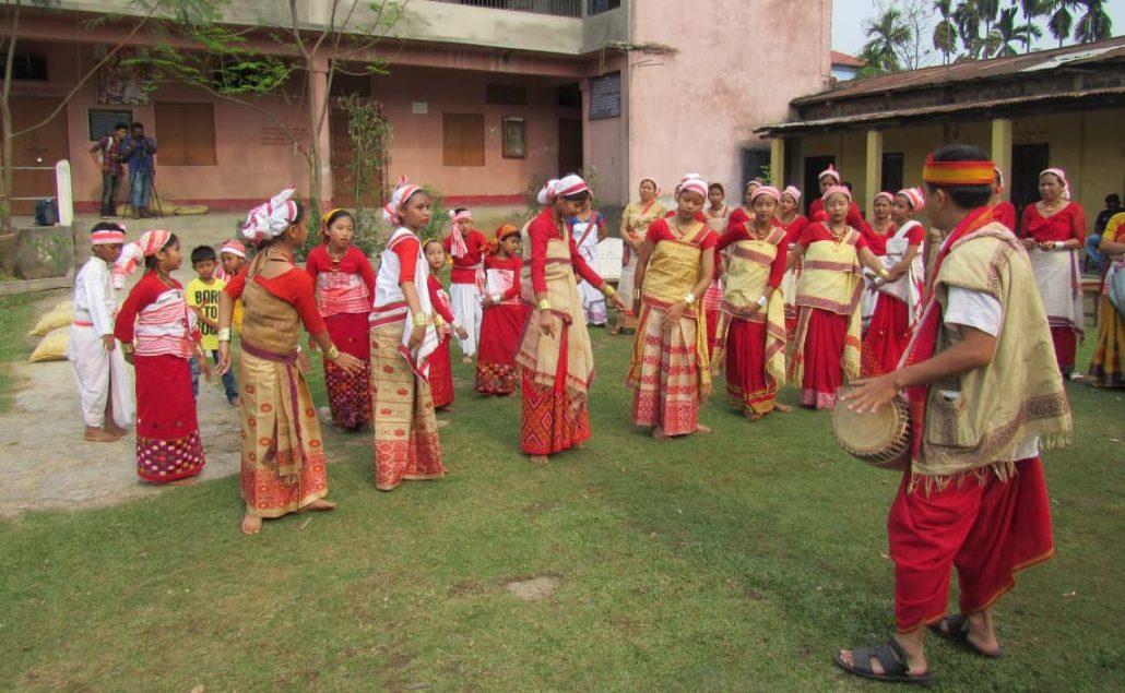 A view of the workshop on the inaugural day at Sabitri Bharali High School premises in Udalbakra, Guwahati.