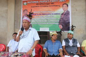 Williamnagar bypoll: Conrad campaigns for party candidate 3