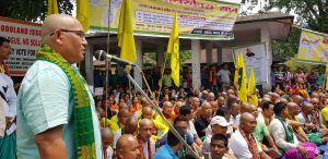 Betrayal Day observed in BTAD; ABSU, PJACBM, NDFB-P activists tonsure heads 1