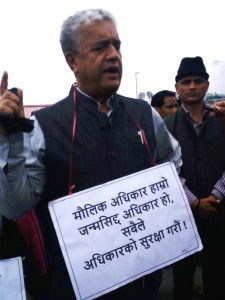 Sikkim Cong protests against ban on inorganic vegetables 3