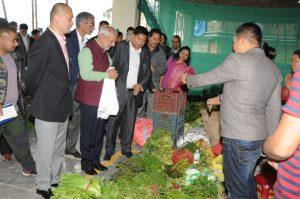 First Kisan bazaar opened at Gangtok for Sikkim farmers 1