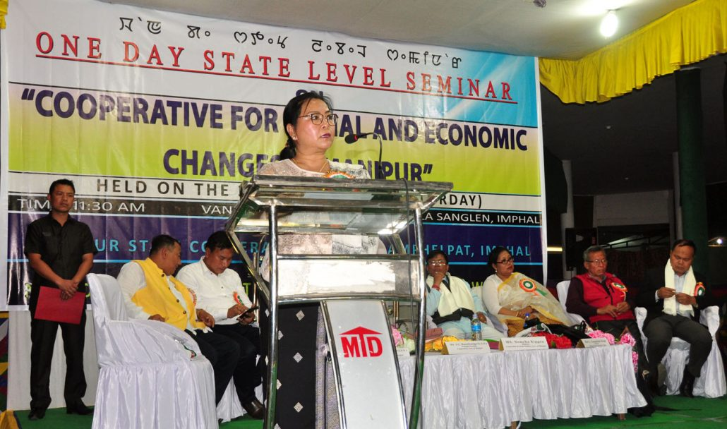 Cooperative plays a significant role in boosting socio-economic condition of Manipur, says Social Welfare Minister Kipgen 1