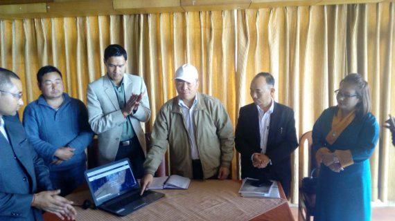 SRM President launching party website - www.srmp.co.in.