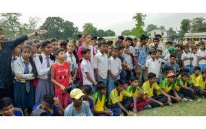 Tangla English Medium High School lift 3rd Champak Rai Baruah Memorial trophy 3