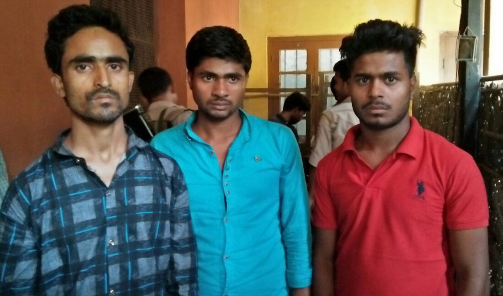 The suspected human traffickers who were arrested by Mangaldai Police. Northeast Now