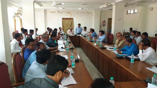 BTC Chief Hagrama Mohilary holds review meeting with department heads to assess developmental works 1
