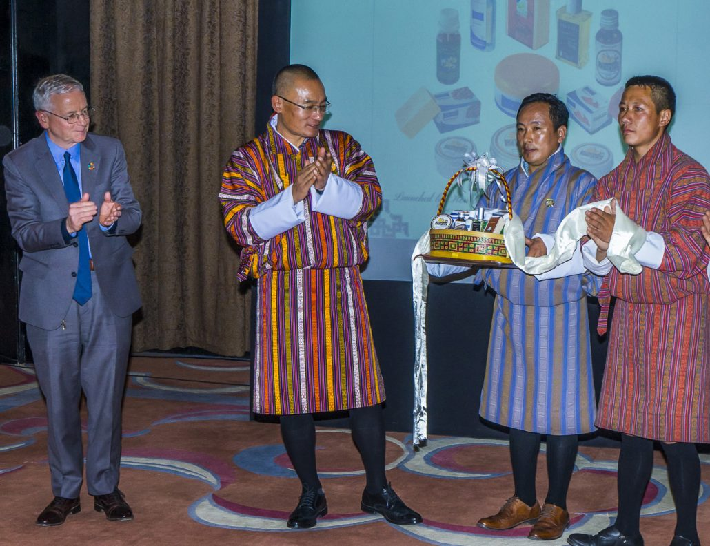 Nine nature-based products launched in Thimpu 1