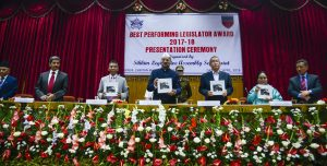 Tilu Gurung conferred Sikkim's Best Performing Legislator Award 1