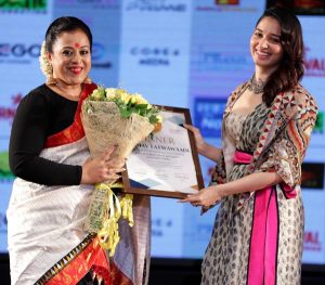 Fashion designer Sanjukta Dutta conferred with Dada Saheb Phalke Excellence Awards 1